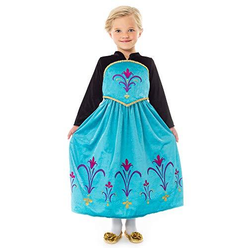 Little Adventures Ice Queen Coronation Dress Up Costume for Girls...