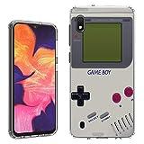 Galaxy A10e Case [Retro Gameboy](Clear) PaletteShield Flexible Slim TPU Skin Phone Cover (fit Samsung Galaxy A10e)
