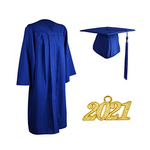 大人の卒業式のユニフォームスーツ、高品質の素材、マットな卒業式のドレスハットタッセルスーツ、シンプルだがまともなユニセックススタイル(opp)