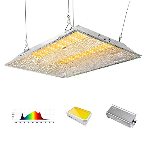 DAKASON 1000W LED Grow Light 2x2 Coverage, Full Spectrum LED Grow Lamp for Indoor Plants Seeding Veg and Bloom with Samsung LEDs and Movable Driver, UV IR Included