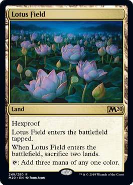 Magic: The Gathering - Lotus Field - Core Set 2020