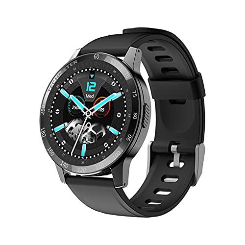 VBF Smart Watch, G23 Nuevo Masculino y Femenino Reloj Deportivo de Bluetooth Tarifa cardíaca Presión Arterial Monitoreo del sueño Rastreador de Fitness Android iOS Podómetro Smartwatch,A
