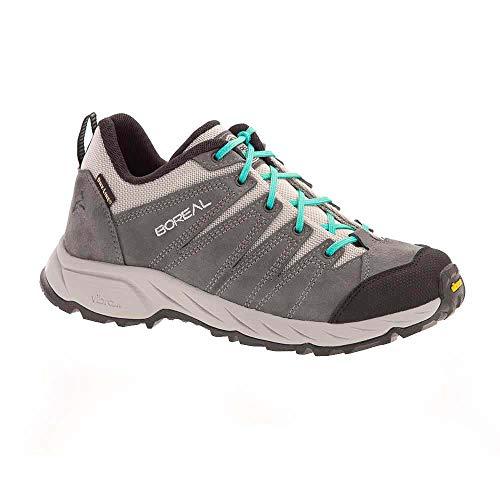 Boreal 61956 Calzado de Trekking Ligero, Wmns, Grey
