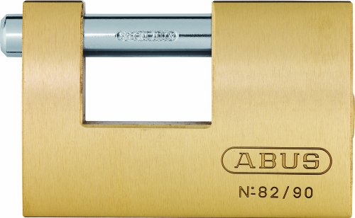 ABUS Messing-Vorhangschloss Monoblock 82/90 11492