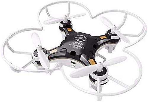 FODUIV Original 124 Mini Drone 2,4G 4CH 6-Achsen-Gyro RTF RC Quadcopter Flugzeuge Umschaltbar Controller Hubschrauber Spielzeug für Kinder