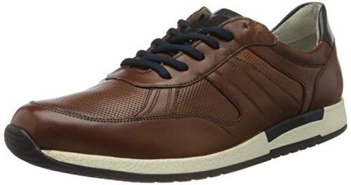 Sioux Herren Rojaro-707 Sneaker, Braun (Cognac 003), 40 EU