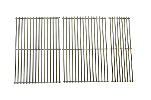 Music City Metals 506S3 Stainless Steel Wire Cooking Grid Set Replacement for Select Gas Grill Models by Grand Cafe, Kenmore and Others