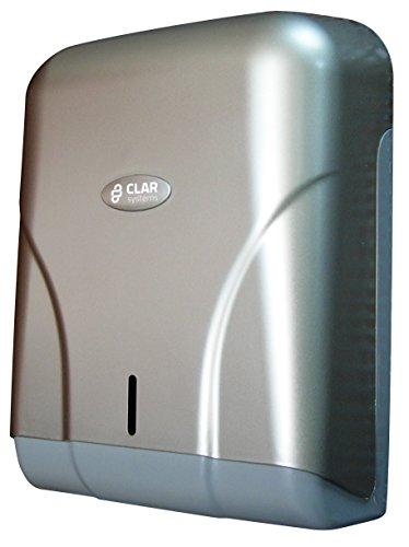 Clar Systems p4500pg Trendy Toilet Paper Dispenser in Roll White 400/m