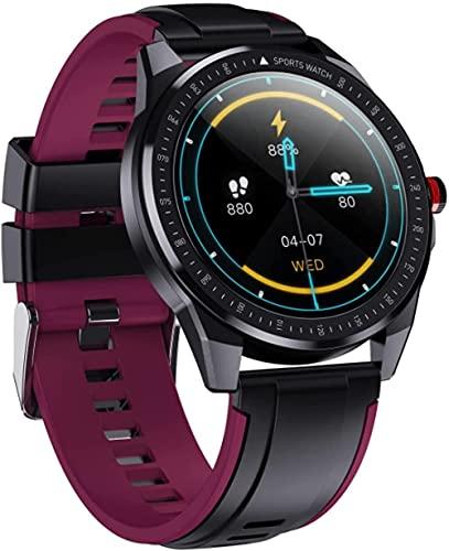 Reloj inteligente pulsera de fitness IP68 impermeable respiración entrenamiento detección de frecuencia cardíaca llamada Bluetooth podómetro masculino y femenino