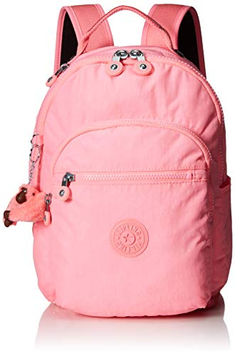 Kipling Women's Seoul Go Small, Padded, Adjustable Backpack Straps, Zip Closure, Conversation Heart Tonal