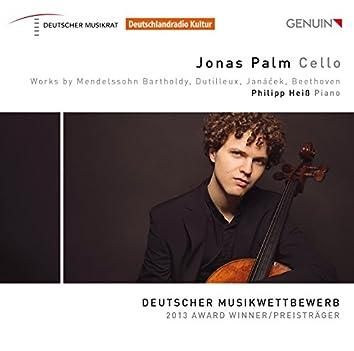 Mendelssohn, Butilleux, Janáček & Beethoven: Works for Cello