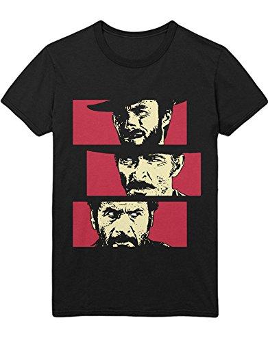 T-Shirt Zwei glorreiche Halunken H549338 Schwarz XXL