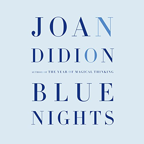 Blue Nights audiobook cover art