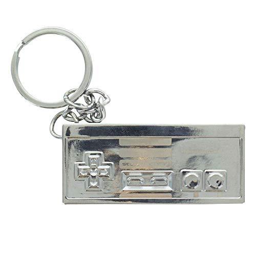 Nintendo Entertainment System Controller Metal Schlüsselanhänger