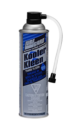 Lubegard 19025 Kooler Kleen Transmission Cooler Flush High Pressure Formula, 18 oz.