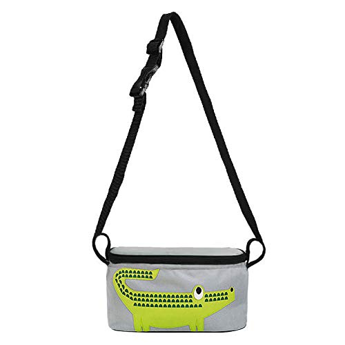 Kiwill - Bolsa para cochecito de bebé, universal, organizador de bolso, bolsa para cochecito o cochecito, resistente al agua. Universal Nuova Coccodrillo