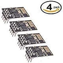 4Pcs ESP8266 Serial WiFi Module ESP-01 Updated Wireless Transceiver Board 3.3V for Arduino