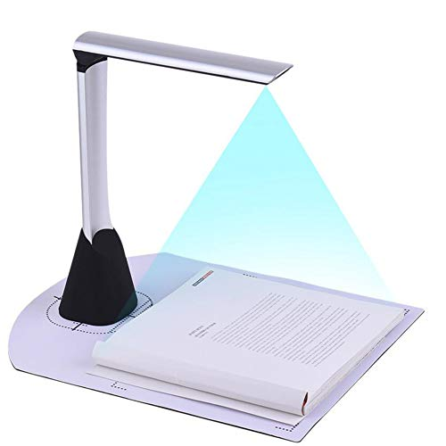 Buy Discount Scanner A4 High Speed Document Camera 5 Mega-Pixel HD High-Definition OCR Function LED Light for School Office Library Bank