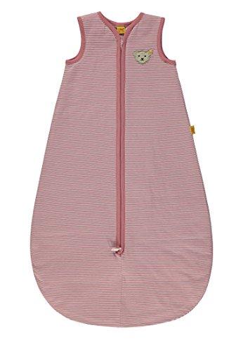 Steiff Baby-Mädchen Schlafsack, Rosa (y/d Stripe Multicolored 0001), 74 (Herstellergröße: L 90)