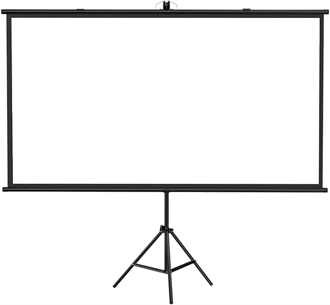 Adjustable Projector Screen, Portable Video Projection Screen, Foldable Projection Screen Manual Home Floor-Standing with Stand Screen(60/72/84/100 Inch) ( Color : 4:3 Screen , Size : 72 inches )