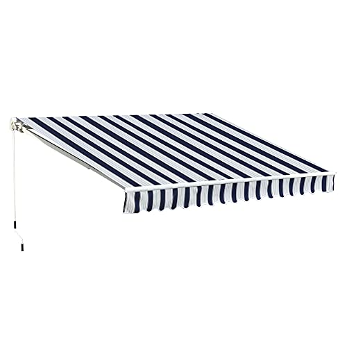 Outsunny 3 x 2.5m Manual Patio Awning