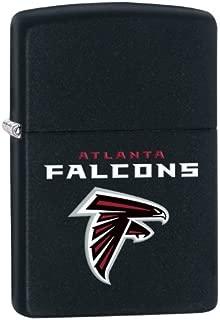 Zippo Lighter - NFL Atlanta Falcons Black Matte