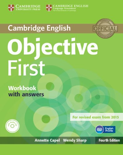 Objective First Workbook with Answers with Audio CD Fourth Edition