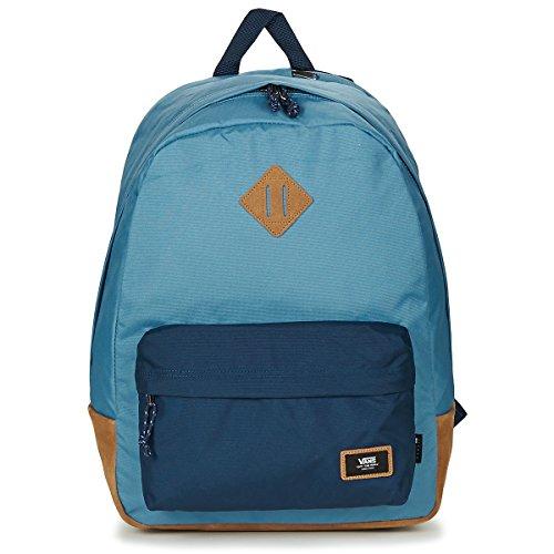 Vans Old Skool Plus Mochila Casual Daypack, 44 cm, 23 L, Copen Azul Vestido Blues (Azul) - V002TMPDZ