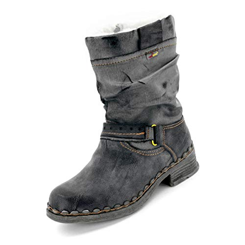TMA Damen Winter-Stiefel, 5005 - Anthrazit - 37