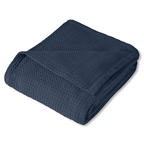 Top 10 cotton blankets queen size blue for 2020