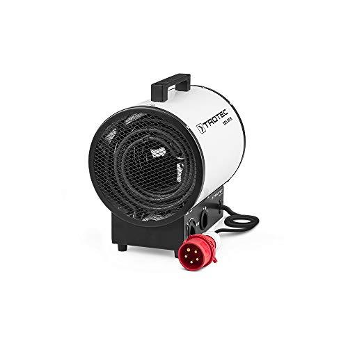 TROTEC Elektroheizer TDS 50 R mit 9 kW Heizlüfter Heizgerät Bauheizer mit integriertem Thermostat, Überhitzungsschutz