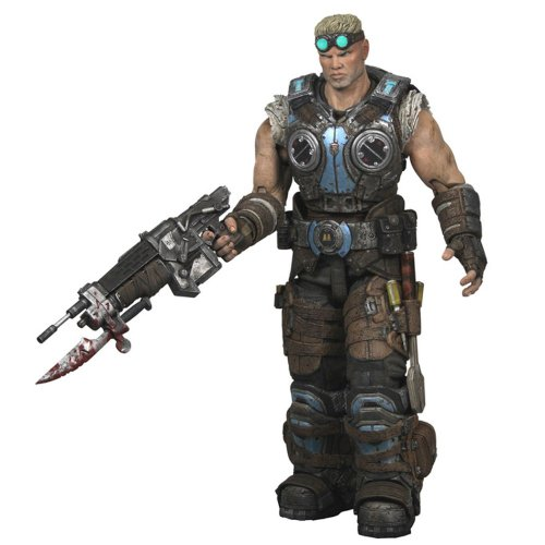 Gears of War NECA 3 Series 2 Action Figure Damon Baird Lancer, Wrench Screwdr...