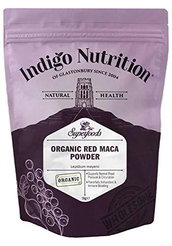 Indigo Herbs Maca rouge bio en poudre 1kg