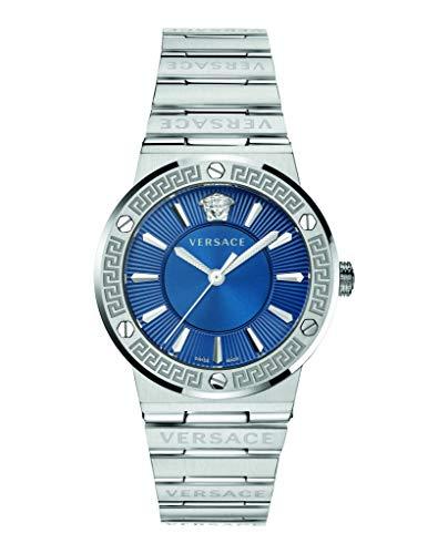Versace Reloj con logotipo Greca para mujer VEVH00520