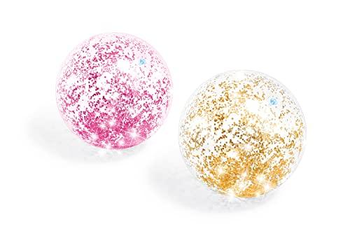 Intex aufblasbarer Ball Glitzer, mehrfarbig