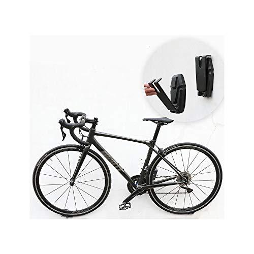 FJSC 3 Uds, Soporte para Bicicleta Negro Montado En La Pared, Gancho para Ahorro De Espacio, Suspensión Vertical, Soportes para Colgar para Almacenamiento De Bicicletas, Carga 50 Kg por Cada Estante