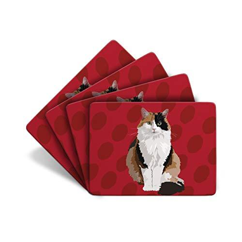 deliktrechts Katze–von 4Tabelle Mats–Leslie Gerry Animal GESCHENKE