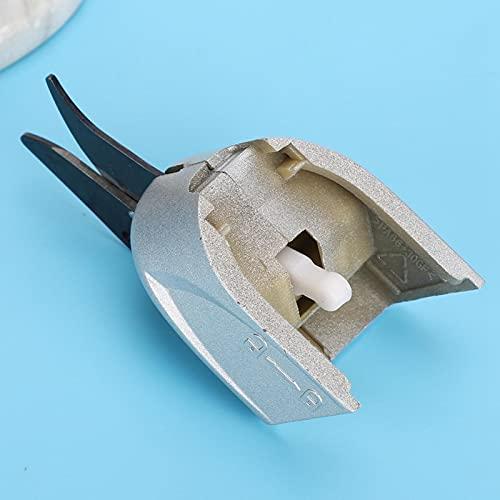 Okuyonic Cuchilla de Tijera eléctrica, Cuchilla cortadora de Tela Resistente, Industria Segura para Cortar Tela para Cortar en casa(Tungsten Steel)
