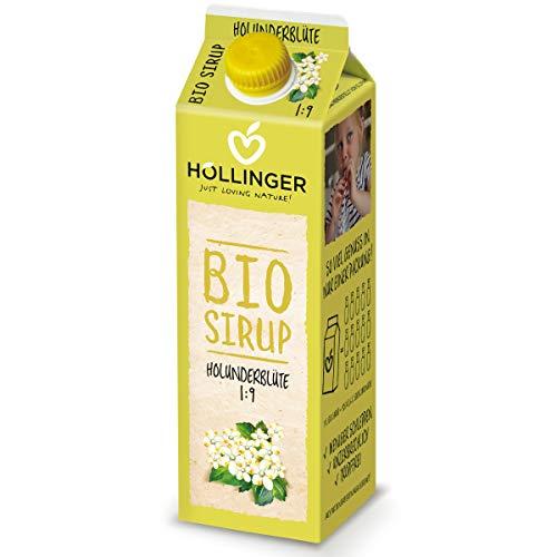 Höllinger Bio Holunderblütensirup, 1000 ml