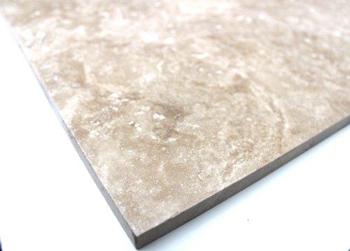 Travertine Classic tegels Cross Cut tegels gepolijst natuursteen vloerwand - 1 pakket