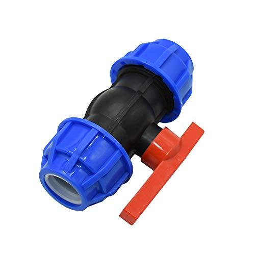 MINGMIN-DZ Dauerhaft DN25 PE PVC PPR Rohr Gartenwasserhahn Bewässerungsventil-Anschluss Wasserdurchfluss-Regelventil 1
