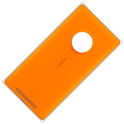 Copribatteria originale con Carica Wireless per Nokia Lumia 830 arancione