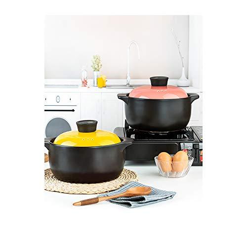 Gusstopf Cocotte Cocotte Marmite en fonte émaillée résistant aux températures élevées avec couvercle stylename size Orange 4.0 l.