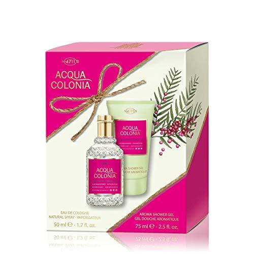 4711 Coffret Acqua Colonia Poivre Rose & Pamplemousse Eau de Cologne 50 ml + Gd 75 ml