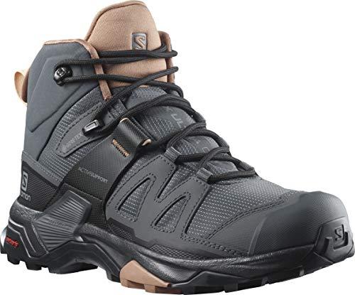 SALOMON X Ultra 4 Mid GTX W, Zapatos para Senderismo Mujer, Ebano...