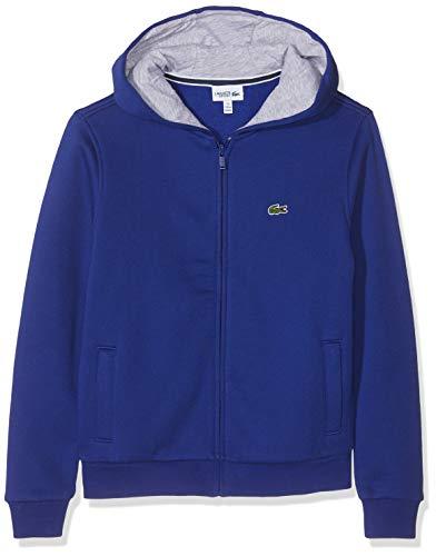 Lacoste Sport SJ2903 Sweat-Shirt, Bleu (Ocean/Argent Chiné W0r), 16 Ans (Taille Fabricant:16A) Garçon