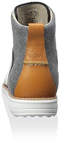 ohw? Men's Gatland Sneaker, Black Grey Date Palm, 8 M US