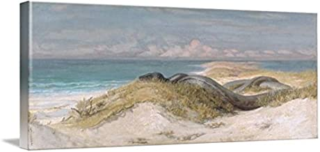 Wall Art Print Entitled Elihu Vedder, Lair of The Sea Serpent by Celestial Images | 10 x 4