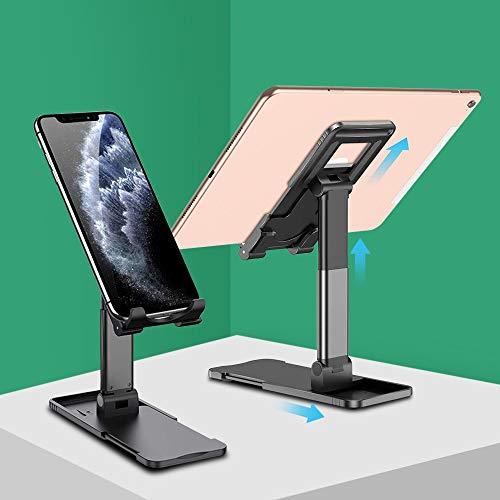 RZL Pad y Tab Fundas para iPad Stands Pro 11 Tablet Stain Soporte de teléfono móvil Soporte de Escritorio Ajustable para Xiaomi Samsung Cradle (Color : 4 Gen Black)
