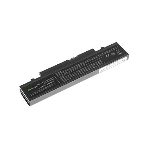 Green Cell Standard Serie AA-PB1VC6B Laptop Akku für Samsung N210 N220 NB30 Plus Q330 X420 X520 (6 Zellen 4400mAh 11.1V Schwarz)